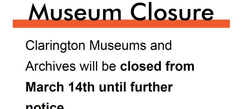 Museum Closure